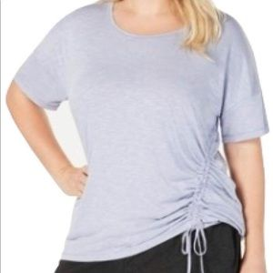 Ideology Plus Size 1X Side Top Tranquility NWT